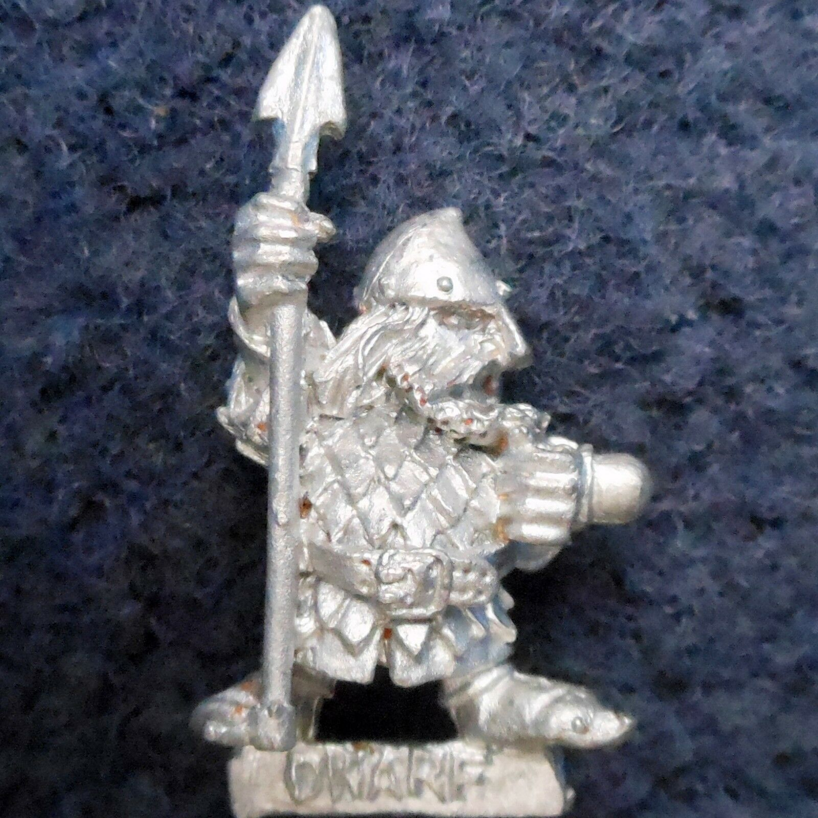 1985 Dwarf ME33 Alternative Spear 1 Lord of the Rings Variant Citadel AD&D LOTR