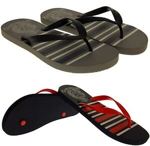 244fedf7f8cb Mens De Fonseca Flat Beach Sandals Flip Flops Pool Shoes Size 6 7 8 ...