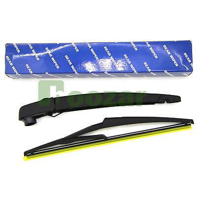 Rear Wiper Arm and Wiper Blade Set for INFINITI QX50 2013 2014 2015 2016 2017 2018 Back windshield Wiper Arm Blades
