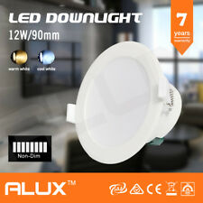 10x 12W IP44 NON-DIMMABLE LED DOWNLIGHT KIT 92MM CUTOUT WARM/DAYLIGHT WHITE