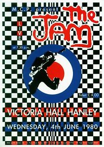 Details about the Jam 1980 - Concert VINTAGE BAND Music POSTERS Rock Travel  Old Advert #ob