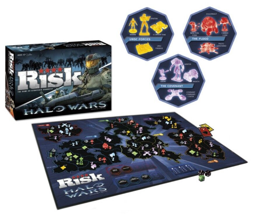 Risk  Spelet med strategiska erövringar - Halo Wars  samlaor s Edition NY
