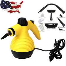 Hand Held 1050W Portable Steam Cleaner Multi Purpose Steamer w/ Attachments New