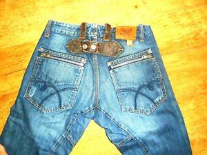 Détails sur KAPORAL jeans homme Taille standard WALCUIR30 38F BON ETAT Coupe droite(28x34