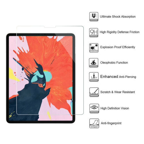 "Screen Protector iPad Pro 12.9/""Tempered Glass,Scratch-Resistant,Anti-Fingerprint"
