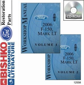 2006 ford f 150 lincoln mark lt shop service repair manual cd engine rh ebay com 2006 f 150 workshop manual 2006 ford f150 factory service manual