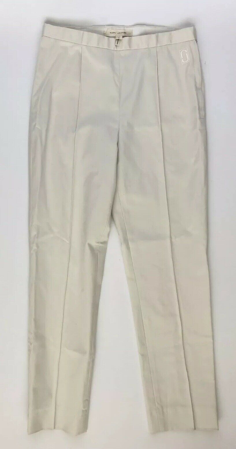 Marc Jacobs Women Pants Size 2 NWT Ivory Cotton