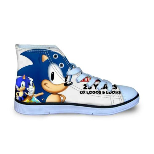 Kids Shoes Sneakers Pretty Sonic The Hedgehog Casual Lace-up 2020 Shoes 2020