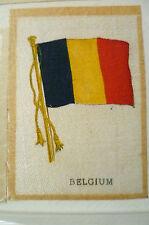 B.D.V. Cigarettes Silk FLAG- BELGIUM FLAG (apx.7x5 cm)