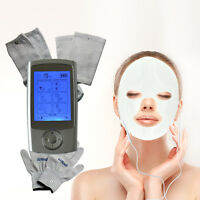 Electrode Tens Ems Pulse Therapy Massager Foot Hand Face Knee Full Body Enjoy