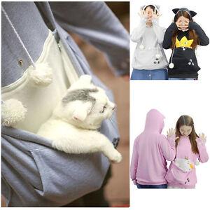 con Uk Cat Felpa Coat Kangaroo cappuccio Unisex Stock Mewgaroo Nyangaroo Casual Pet Dog z8OPqwU