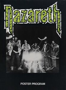 NAZARETH-1979-NO-MEAN-CITY-TOUR-POSTER-PROGRAM-CONCERT-BOOK-NMT-2-MINT