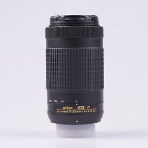 Nikon AF-P DX NIKKOR 70-300mm f/4.5-6.3G ED VR Obiettivo (Scatola Bianca)
