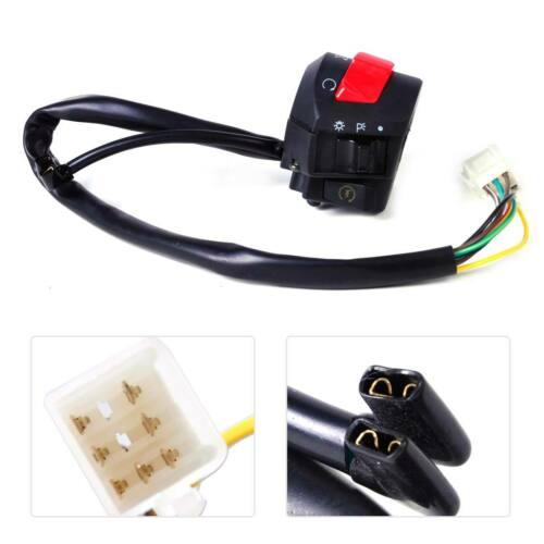 2Pcs 7//8/'/'22MM Motorcycle Handlebar Horn Turn Signal Light Control Switch On//Off