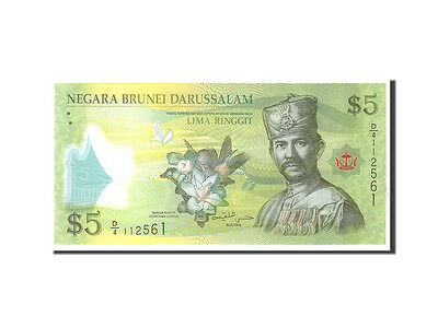 Brunei Unc Km:36 2011 5 Ringgit Modest Undated With A Long Standing Reputation #112576 65-70