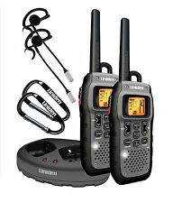 Uniden Submersible 50 Mile FRS/GMRS Two-Way Radios with Charging Kit - Dark Grey