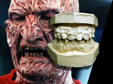 Freddy Krueger Prosthetic Teeth Castings From A Nightmare on Elm Street 4