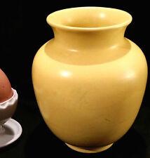 Wundervolle Vase Wächtersbach 10144 Dekor Taxis 50er Jahre Pastellgelb