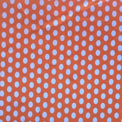 Polka Dots Dress Satin Fabric Spotty Costumes Minnie Mouse Party Spotted Drapes