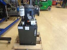 Monarch Instrument 800 psi 8.8 gpm 5 HP 208-230//460VAC Hydraulic Power Unit T66C405C03B0-01