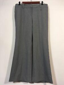 Ann Taylor LOFT Dress Pants Size 10P Gray Career Trouser Slacks