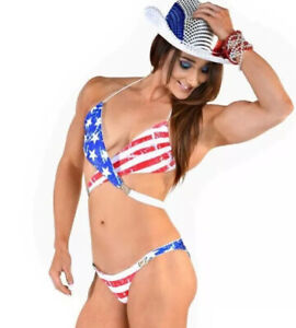 USA flag Bikini, Patriotic Swimwear Swimsuit Beachwear