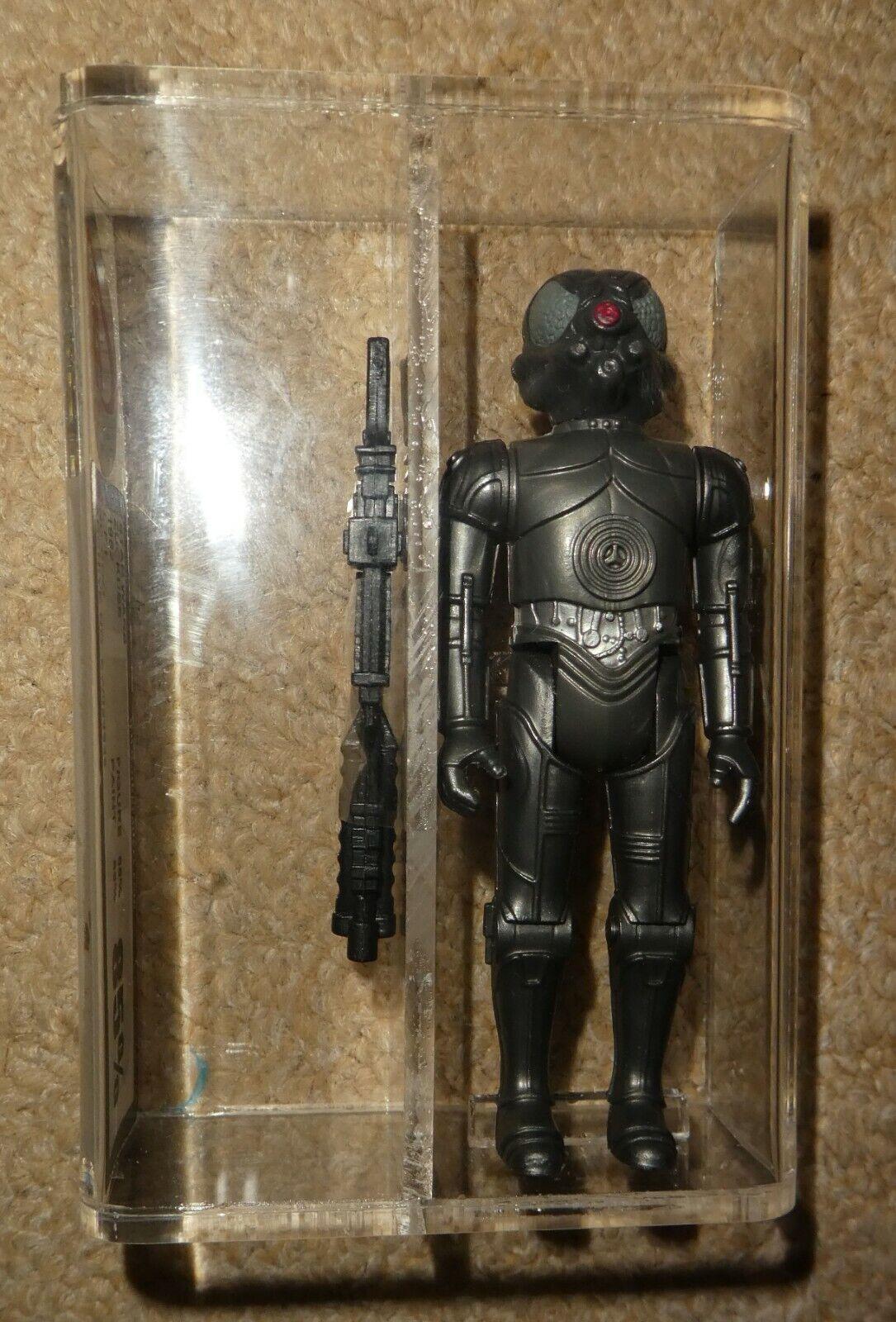 Star War vintage Zuckuss Graded  85% figure 1982 empire jedi bounty hunter