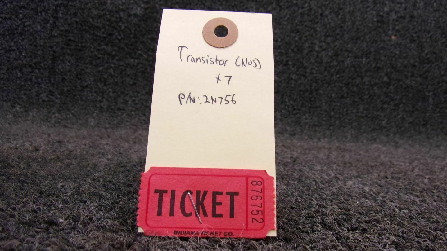New Old Stock 2N3019 Silicon NPN Transistor Ic Max 1000ma