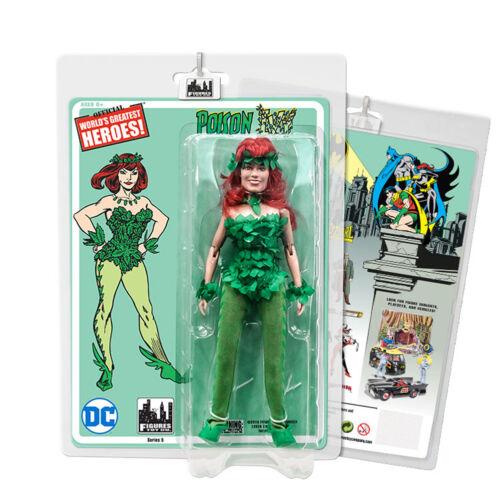environ 20.32 cm DC Comics style rétro 8 in Poison Ivy figures Batman Retro Series 5