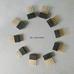 10PCS-2x5-10-Pin-10P-Double-Row-Female-stackable-Connecter-Header-2-54mm-Arduino