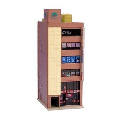 Kato 23-432B 6 Floor Office Building (Brown) (N scale)