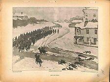 Après leurs Départ Cavalry Feldgrau Deutsches Heer Biron-Roger Peintre 1915 WWI