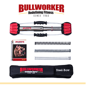 Bullworker 20  Steel Bow - Full Body Workout -  Portable Home Exercise Equipment  free shipping worldwide