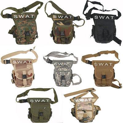 TACTICAL SWAT MULTI-PURPOSE OUTDOOR CS LEG DROP UTILITY BAG MULTI COLORS