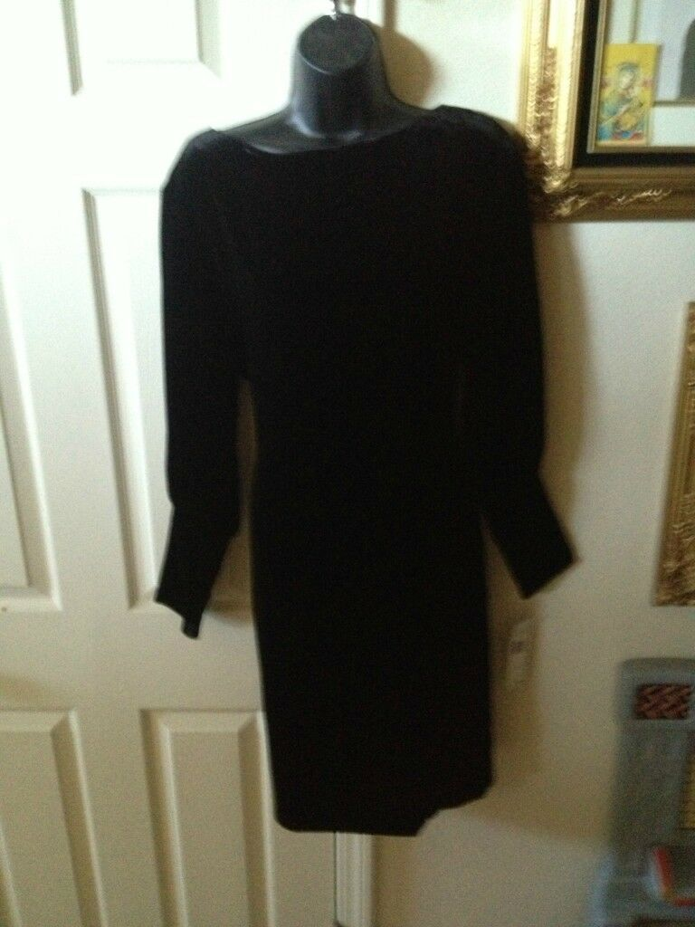NWT Lauren by Ralph Lauren schwarz Dress 6