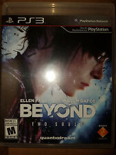 PS3 Beyond Two Souls Game |BRAND NEW FACTORY SEALED Playstation 3