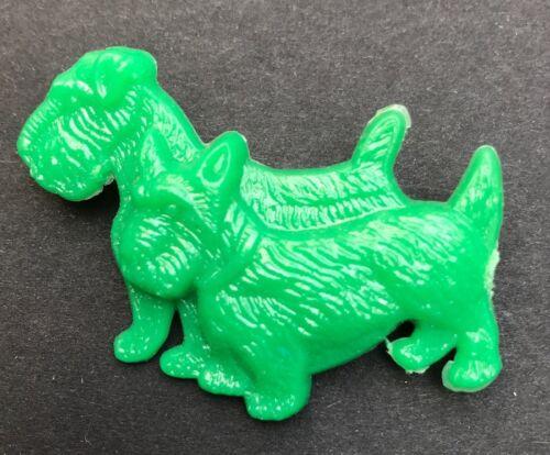 Entzückend Vintage 1950s Scottie Hund West Highland Terrier Brosche 7 Farben
