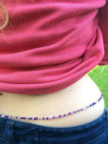 African Rainbow Girovita Perline gioielli corpo unico Strand tutte le taglie
