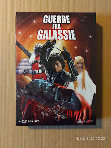 Guerre fra Galassie (1978) Serie Completa Box Limited Ed (4 DVD+Booklet)