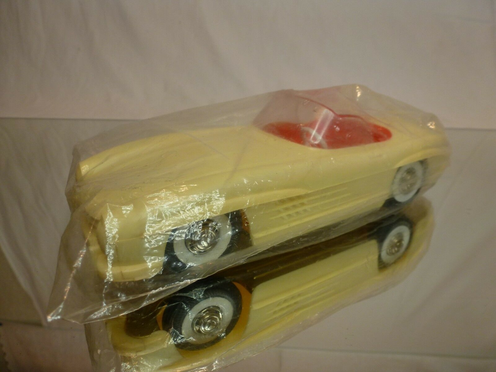 MADE IN WESTERN GERMANY MERCEDES BENZ 300 300 300 SL - L20.0cm FRICTION - UNUSED IN BAG bbace4