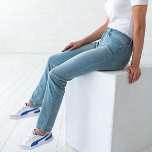 Levi-039-s-712-Slim-Blau-Damen-Jeans-DE-38-US-W30-L32