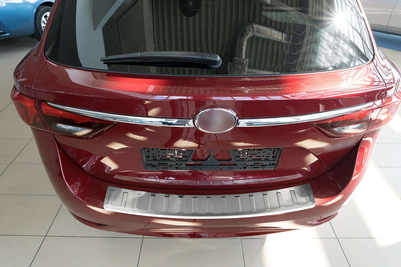 Ladekantenschutz für Toyota Avensis 3 Kombi III 2009-2015 Edelstahl Schwarz