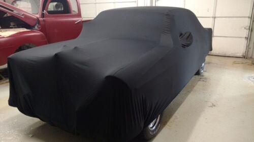 Black New 1955 Chevrolet Bel Air 2 door Coupe Indoor Car Cover