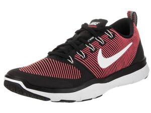 meet 84555 81012 Image is loading Nike-Mens-Free-Train-Versatility-Black-White-Red-