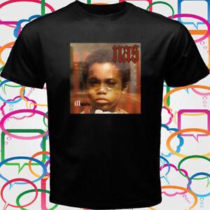 f4b3c366c Nas Illmatic Album Cover Rap Hip Hop Men's Black T-Shirt Size S to ...