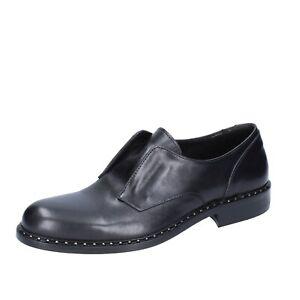 Business-schuhe Kleidung & Accessoires 2 Piu' Due 41 Eu Elegante Schwarz Leder Bs756-41 Herren Schuhe