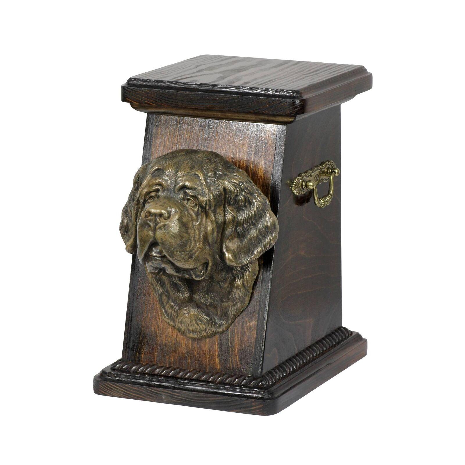 outlet Cane di San Bernardo - urna di legno con con con l'immagine di un cane Art Dog IT Tipo 3  offerta speciale