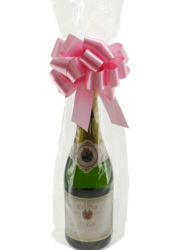 Wine Bottle Clear Cellophane Bag PACK OF 20 Christmas Celebration Gift Wrapping