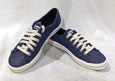 Kickstart Lurex Navy Sneakers - Size