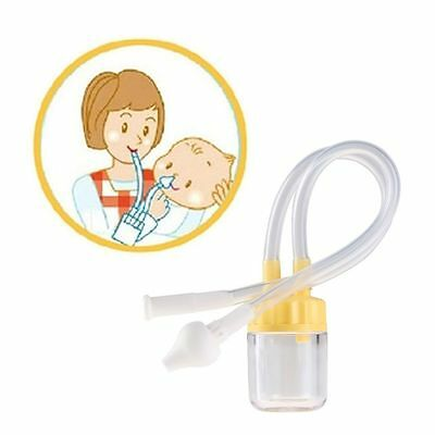 Color Random Clean Safe Nasal Suction Baby Nose Cleaner Vacuum Runny Aspirator